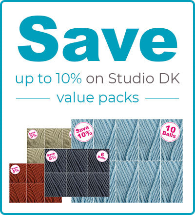 Save 10% on Deramores Studio Dk with our Value packs