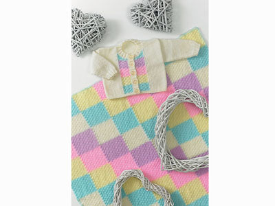 Cardigan and Blanket by Jenny Watson in Deramores Studio Baby DK