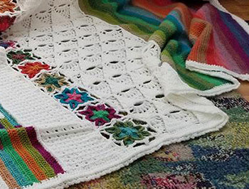 5th Dimension Blanket CAL by Felted Button