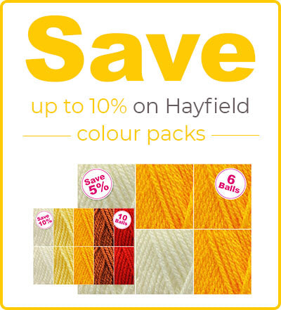 Hayfield Bonus DK Colour Packs