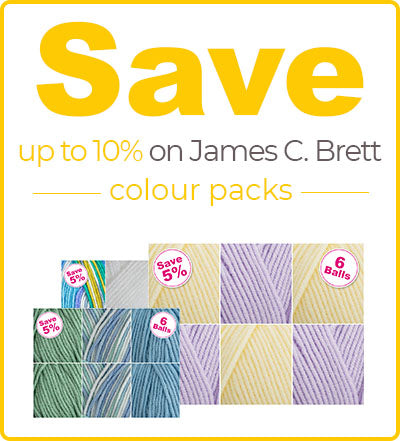 Buy James C Brett Marble Chunky Colour Packs