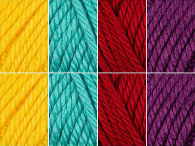 Colourful Chameleon Colour Pack in Lion Brand Hometown USA