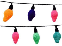 Crocheted Fairy Lights