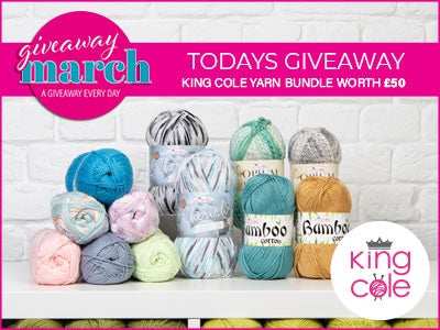 Deramores March Giveaway King Cole Bundle