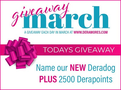 Deramores March Giveaway Name the Dog