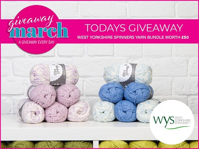 Deramores March Giveaway West Yorkshire Spinners Bundle