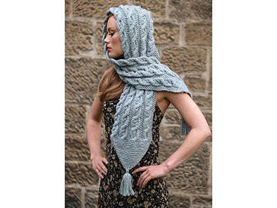 Hariette Hooded Scarf by Jo Allport Designs