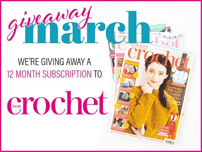 Deramores March Giveway 12 month magazine subscription