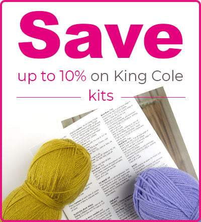 King Cole Merino Blend DK Kits at Deramores