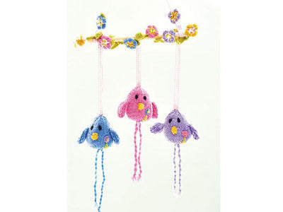 Let's Knit Birdy Wall Hanging Colour Pack in Deramores Studio DK