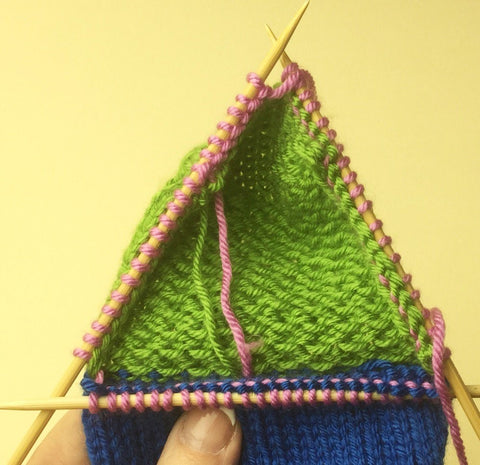 Knitting Instep Stitches : Mary Beth Temple: Simple Sock Tutorial Part Two   Deramores