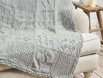Rowan Beaded Cushions & Throw KAL by Martin Storey