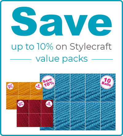 Stylecraft Special Aran yarn packs