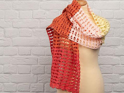 Summer Shawl by Blue Star Crochet