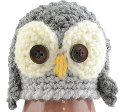 The Crochet Owl for the innocent Big Knit