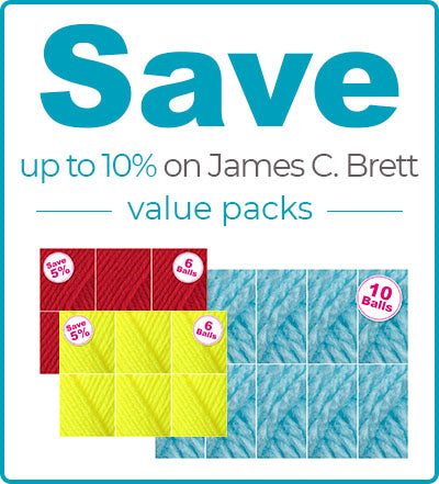 Buy James C Brett Marble Chunky Value Packs