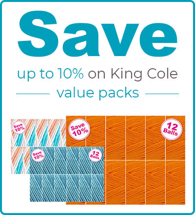 King Cole Merino Blend DK Value packs at Deramores