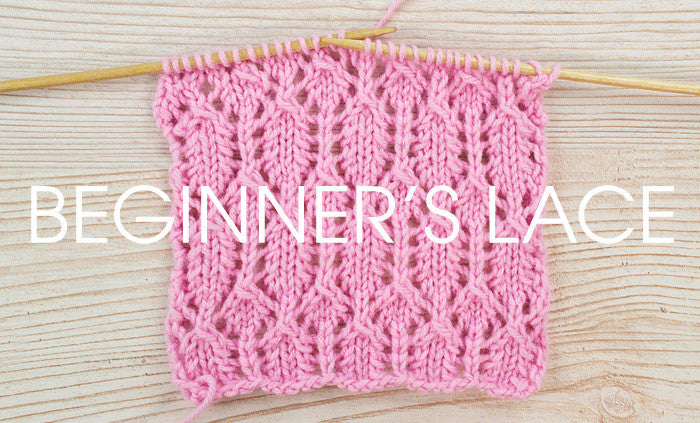 Stitch of the Week: Beginners Lace   Deramores
