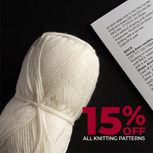 Knitting Patterns On Sale