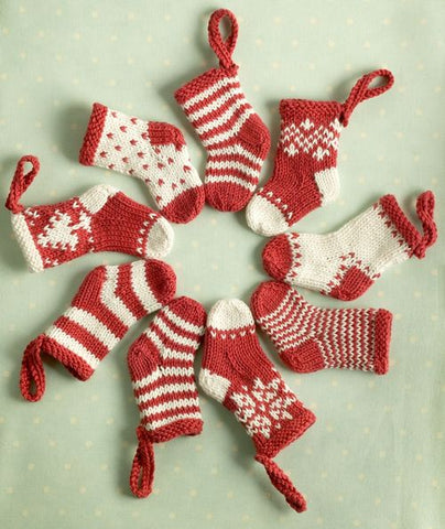 Red Stocking Hanging Decorations