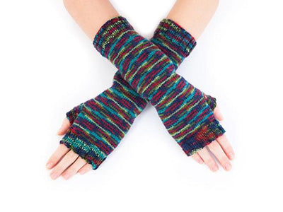 Simple Fingerless Mits by Sue Stratford