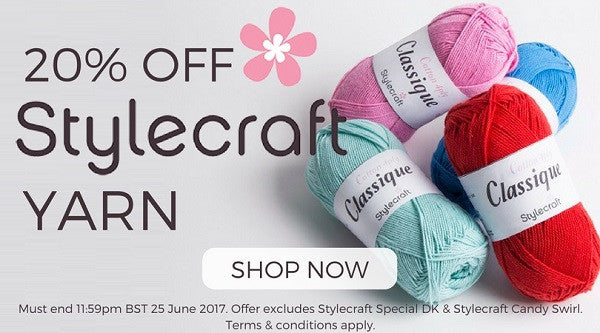 Deramores Stylecraft Offer