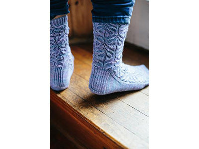 Teasel Socks by Jane Burns