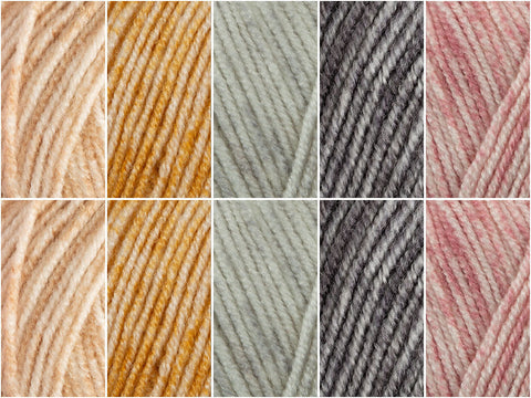 Cheers Colour Pack by Polly Plum in Stylecraft Batik