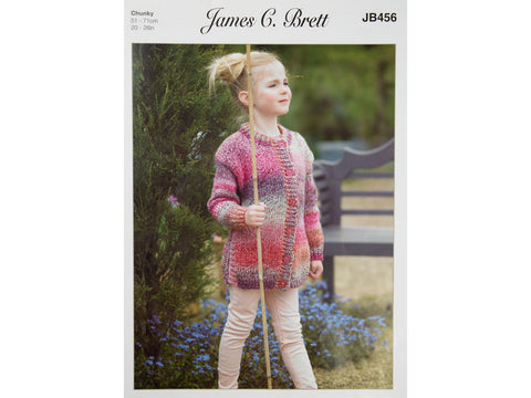 Tunic and Jacket in James C. Brett Marble Chunky (JB456)