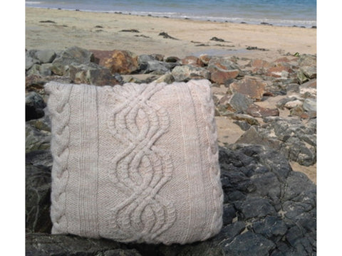 Starburst Cushion Cover by Sarah Murray in Stylecraft Special Aran with Wool