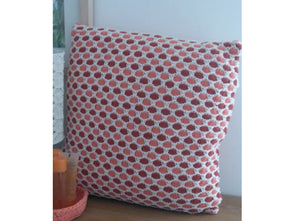 Three Colour Cushion Cover by Sarah Murray in Stylecraft Life DK