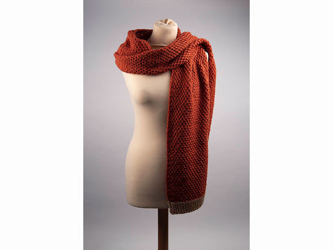 Mist Scarf by Charmaine Fletcher in Deramores Studio Aran