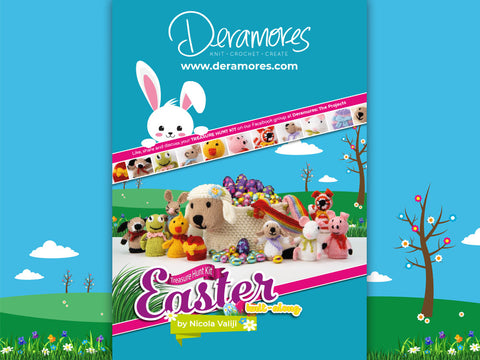 The Official Deramores Treasure Hunt Kit Easter Knit-Along Knitting Kit