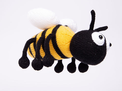 Honey the Bee in Deramores Studio DK by Amanda Berry
