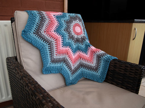 Mystical Star Blanket by Crafty Cruella in Deramores Studio DK
