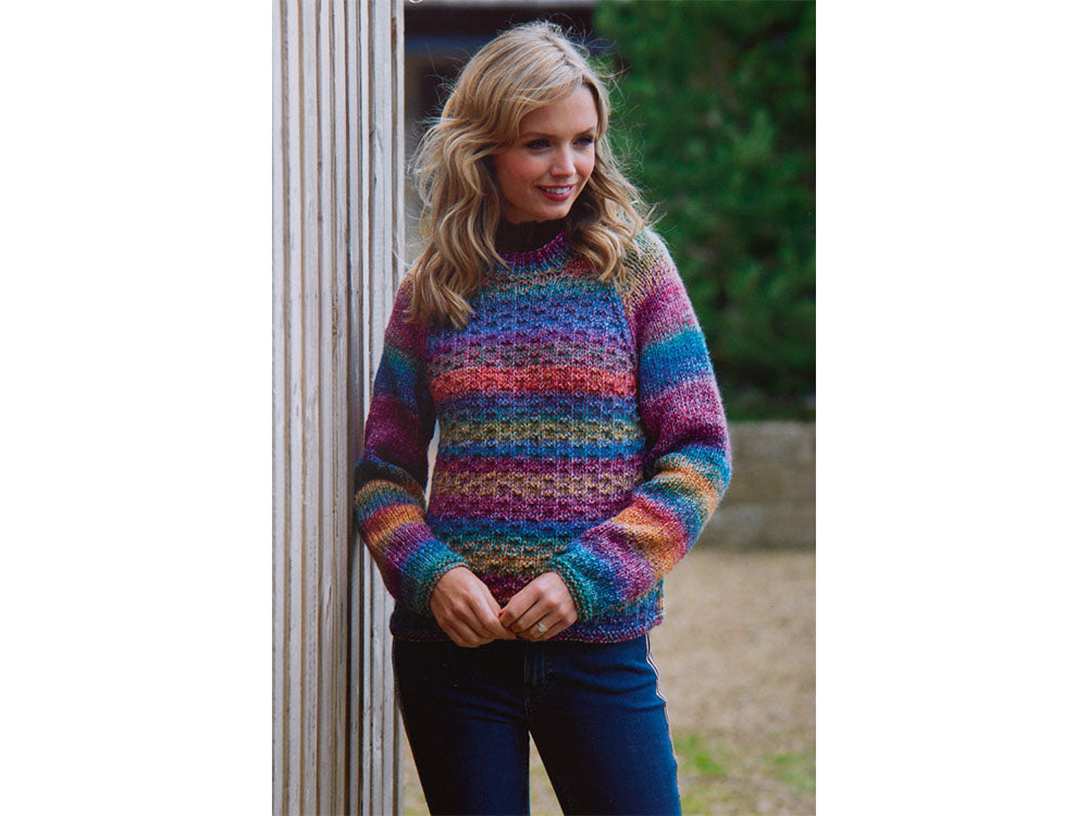 628bc81e3 Ladies Sweater in James C. Brett Marble Chunky (JB553) – Deramores