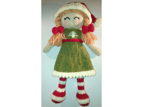 Trixie the Christmas Elf by Cilla Webb in Deramores Studio DK