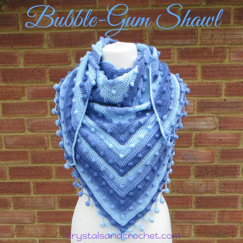 Bubblegum Shawl - Stylecraft Special Candy Swirl - Yarn Pack
