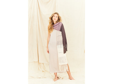 Shawls Knitting Kit and Pattern in Stylecraft Yarn (9836)