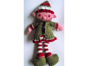 Fizz Wizz the Elf by Cilla Webb in Deramores Studio DK