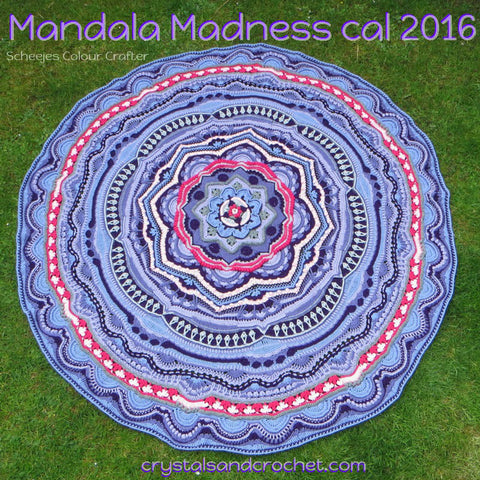 Mandala Madness - Blanket - Colour Crafter - Purple Passion Yarn Pack
