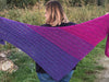 Flat Out Fabulous Shawl by MissNeriss in Scheepjes River Washed XL