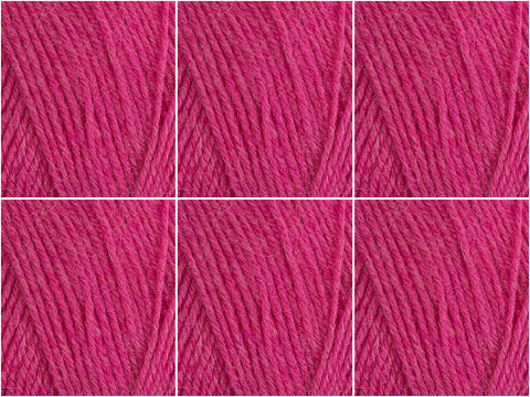 West Yorkshire Spinners Signature 4 Ply Sweet Shop - 6 Ball Value Pack - Sarasparilla