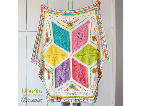 Scheepjes CAL 2018 Ubuntu by Dedri Uys in Scheepjes Stone Washed - Medium