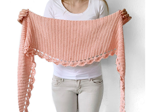 To The Point Shawl Crochet Kit