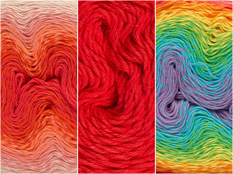 Swiss Roll Colour Pack in Scheepjes Whirl & Whirlette