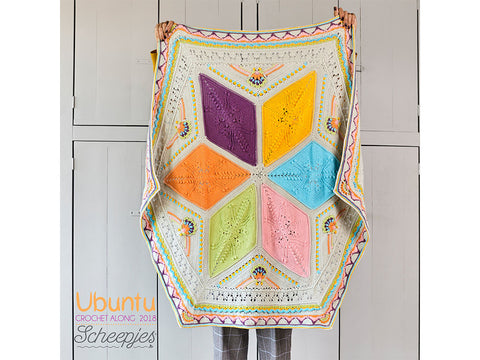 Scheepjes CAL 2018 Ubuntu by Dedri Uys in Scheepjes Cotton 8 - Small