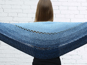 Joyful Josie Shawl Crochet Kit and Pattern in Scheepjes Yarn