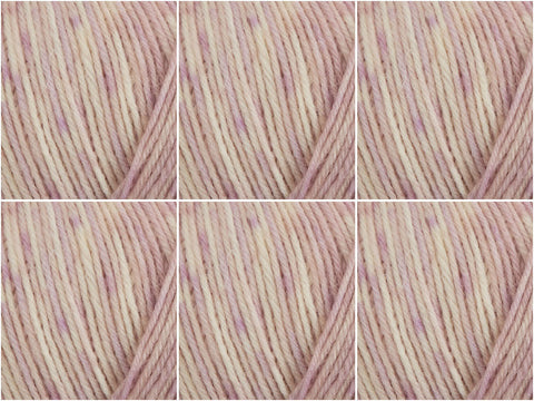 West Yorkshire Spinners Signature 4 Ply The Florist Collection - 6 Ball Value Pack - Peony
