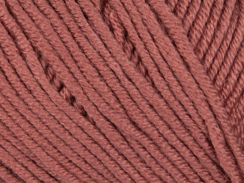Dusty Rose in Sirdar Snuggly Baby Cashmere Merino Yarn (0463)
